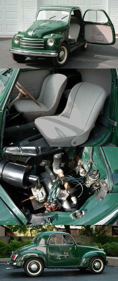 1951 Fiat Topolino 500C Coupe.
