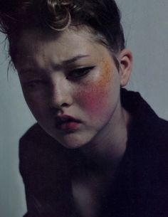 turn the dark on, devon aoki by mario sorrenti for the face october 1996