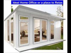 Fully Insulated Eco-Suite Garden Room at Summer House price, Home Office, Gym - EcoSuite Insulated Garden Room, Eco Garden, Garden Buildings, House Prices, Ideal Home, Home Office, Shed, Relax, Outdoor Structures