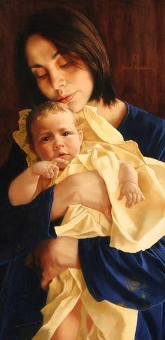 Gyermek Anya Art - Arsen Kurbanov