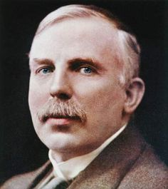 White inventor series: New zealand born Earnest Rutherford, 1871 - 1937, considered the Father of Nuclear Physics