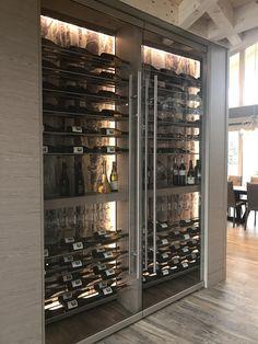 wine cellar, wine fridge, modern wine storage, modern wine cellar, wine display