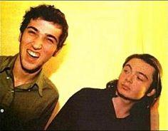 Daft Punk unmasked (Thomas bangalter left and Guy Manuel de Homem-Christo right)