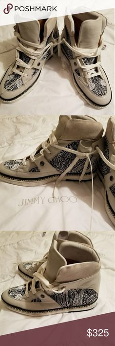 74d4c04b9b5 Spotted while shopping on Poshmark  Jimmy Choo Barlowe Men s Embroidered  Sneakers!  poshmark