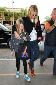 Airport style is a family affair.