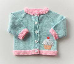 4e846b75d21 Cupkake sweater mint green sweater knitted baby cardigan pale baby girl  sweater merino jacket MADE T