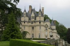 Chateau dUsse~Loire Valley, France    The inspiration for writer Charles Perrault to write Sleeping Beauty in 1697 while visiting the chateau. gonetoparis