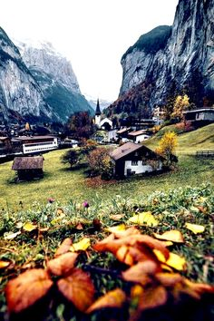 Lauterbrunnen - The Wanderlust Visit Switzerland, Travel Maps, What A Wonderful World, Wonders Of The World, Palm Trees, Scenery, Germany, Around The Worlds, Explore