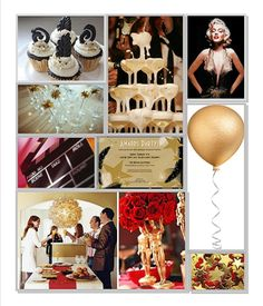 red carpet party ideas | The glitz and glam of a Hollywood-style Awards Party