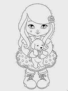 Prendinhas e Mimos : Boneca cachinhos e Jolie Tilibra