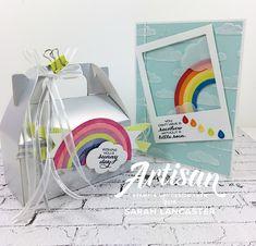 Sunshine and Rainbows Stampin' Up! Artisan Blog Hop!