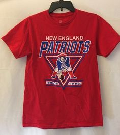 c75b9d174 Details about Women s Pink New England Patriots Football Tee Shirt Logo NFL  Team Apparel M L