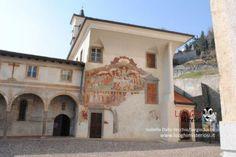 1485 - Jacopo Borlone – Mural on the Oratorio dei Disciplini, Clusone Italy - Dance Macabra  (LInks to an article with MANY more pictures of the mural)   CLUSONE (BG) - L'ORATORIO DEI DISCIPLINI - IL TRIONFO DELLA MORTE E LA DANZA MACABRA