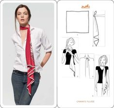Как носить платок – 20 идей от HERMES - Ярмарка Мастеров - ручная работа, handmade