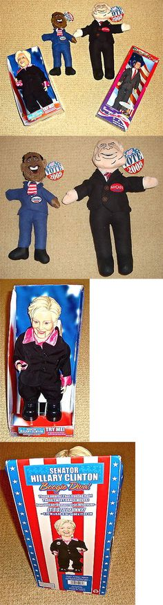 Hillary Clinton: 4 Dolls Of Political Figures: Hillary Clinton George W. Bush Obama John Mccain -> BUY IT NOW ONLY: $60 on eBay!