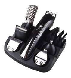 Cheap shaver beard trimmer, Buy Quality beard trimmer directly from China hair clipper Suppliers: Kemei 6 in 1 Rechargeable Hair Trimmer Titanium Hair Clipper Electric Shaver Beard Trimmer Men Styling Tools Shaving Machine 600