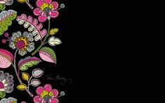 Dress your tech: Moon Blooms Desktop Wallpaper | Vera Bradley