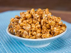 Salted Caramel Popcorn Recipe by FlavCity