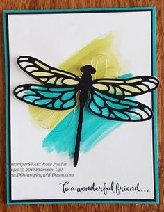 Stampin' Up! DOstamper STARS Friday Feature cards shared by Dawn Olchefske Dreams-Rose Paulus) Bee Cards, Butterfly Cards, Heart Cards, Mothers Day Cards, Scrapbook Cards, Scrapbooking, Handmade Birthday Cards, Pretty Cards, Card Tags