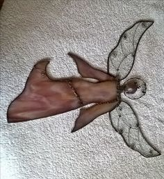 Stained glass angel Tiffany andel