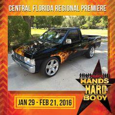 Hands on a Hardbody Central Florida Regional Premiere Jan 29, 2016 at Garden Theatre.  gardentheatre.org/plays