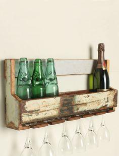 Regal für Flaschen/Gläser 1
