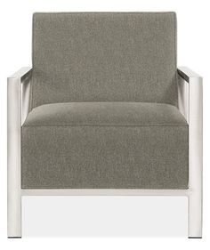 Zinc Chair in Tepic Grey - Chairs - Living: Seating - Room & Board