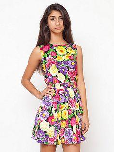 California Select Original Cut-Out School Girl Dress