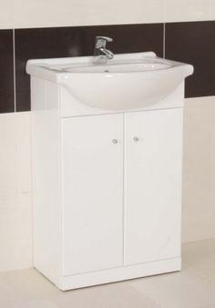 The Arte Doors Floor Standing Vanity Unit With Basin