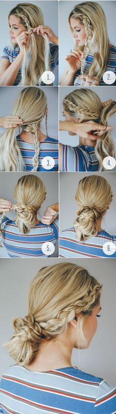 Today messy hair is worn not only in casual, but also on the red carpet. Read on for nine Perfect Messy Bun Hairstyles for Long Hair. Messy is the new sexy.