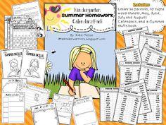 Little Warriors: Summer Homework Packets Revised + Sale!!!!