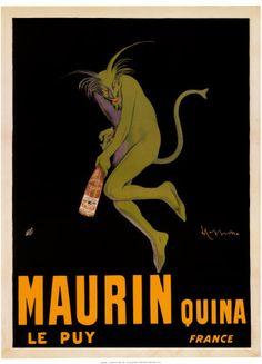 """""""Maurin Quina"""" - Leonetto Cappiello, 1906"""