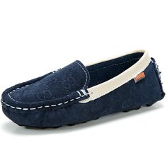 Children Shoes Flats Kids Leather Sneakers Suede Calfskin Casual Boat  Footwear Slip on Loafers - Wholesale Kids Leather Footwear d30c8924ade5
