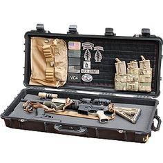 RE Factor Tactical - Pelican Case Insert Combination Tactical Assault Gear, Tactical Survival, Tactical Knives, Survival Gear, Weapon Storage, Gun Storage, Airsoft Storage, Storage Ideas, Tactical Equipment