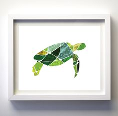 Malachite Green Turquoise Geometric Turtle Art Print * Print does not come with any frame or mat. All prints have an extra white border around for easier framing. ___________________________________________________________________ ♥♥♥SHOP BY COLOR: BLACK ♥ WHITE: https://www.etsy.com/shop/FancyPrintsforHome?section_id=16609468&ref=shopsection_leftnav_3 TEAL ♥ TURQUOISE ♥ BLUES: https://www.etsy.com/shop/FancyPrintsforHome?section_id&#x...
