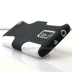Click Image to Browse: $8.95 Black White APEX Hard Case Gel Cover For Samsung Galaxy S2 (Hercules)
