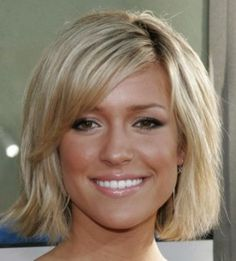 Blonde Medium Haircuts 2014 For
