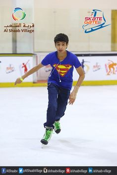 #Skating at #SkateGate is full of excitement. We have the largest #IceSkating rink in #Sharjah. Come and have party. .. #UAE #AlshaabVillage #Fun #Happiness #Pleasure #Thrill