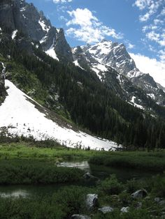 Cascade Canyon, Grand Teton National Park, Wyoming. One of my favoite hikes ever!