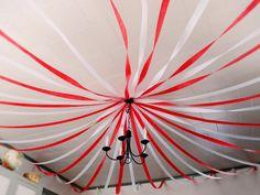Déco DIY pour un anniversaire cirque - Chapiteau des clowns