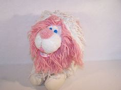 Vtg 1986 Kenner Fluppy Dogs Cuddle Flup plush toy USED #Kenner