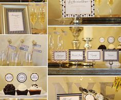 """""""Party Favors"""" Place Card Photo Holders:"""
