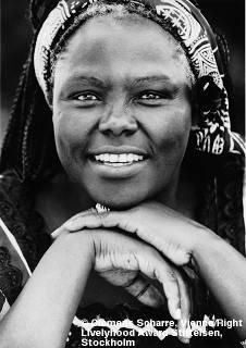 Wangari Maathai (1940–2011), Kenyan  activist. She founded the Green Belt Movement, an NGO focused on the planting of trees, environmental conservation, and women's rights. In 2004, she became the first African woman to receive the Nobel Peace Prize for her contribution to sustainable development, democracy, and peace. (Source: Wikipedia)