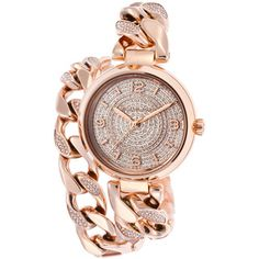 Michael Kors OFF!>> Michael Kors Womens Ellie Rose-Tone Steel and Dial Crystal Accents Mk Handbags, Handbags Michael Kors, Or Rose, Rose Gold, Jewelry Accessories, Fashion Accessories, Amazing Watches, Diamond Are A Girls Best Friend, Michael Kors Watch