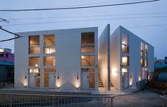 'skeleton house' by be-fun design, yokosuka, kanagawa, japan