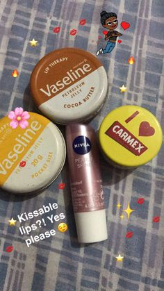 Your skin care routine isn't complete of your lips are left out! Follow @blackgirl_naya for more self care pins
