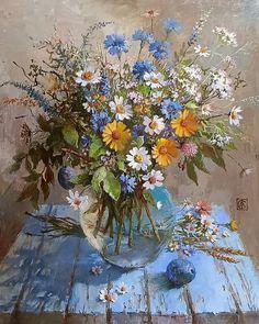 Acrylic Flowers, Oil Painting Flowers, Watercolor Paintings, Landscape Paintings, Butterfly Art, Flower Art, Vj Art, Chalk Pastel Art, Art Drawings For Kids