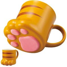 NIKUKYU Mug Tabby Cat $13.50 http://thingsfromjapan.net/14812/ #kawaii cat mug #Japanese mug #cute cat mug