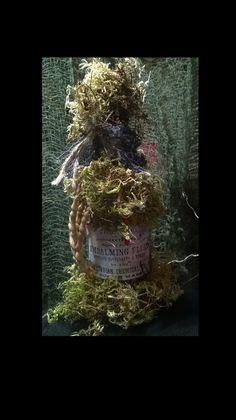 Handmade Embalming Fluid Potion Bottle by CrimsonPain on Etsy