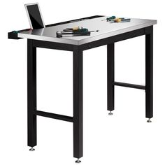 Costco UK - NewAge 4ft (1.2m) Work Bench with Stainless Steel Top
